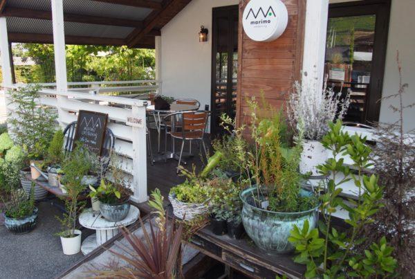 marimo cafe&dining & icci KAWARA PRODUCTS